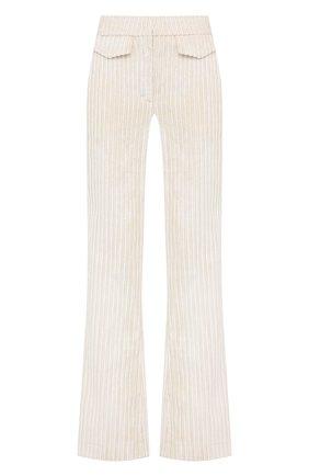 Женские вельветовые брюки DOROTHEE SCHUMACHER кремвого цвета, арт. 943303/SP0RTY LINES | Фото 1