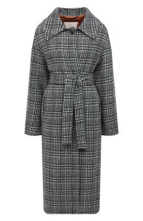 Женское шерстяное пальто TELA черно-белого цвета, арт. 05 1961 01 0114 | Фото 1