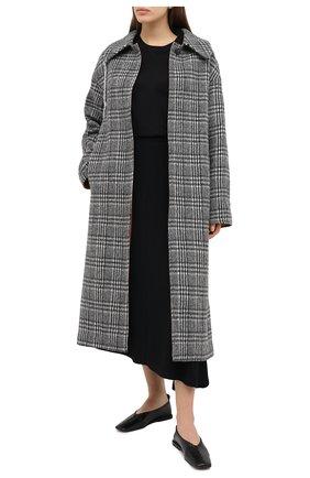 Женское шерстяное пальто TELA черно-белого цвета, арт. 05 1961 01 0114 | Фото 2