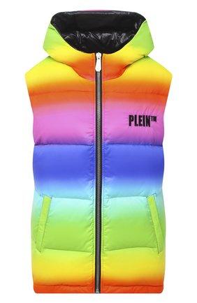 Женский жилет PHILIPP PLEIN разноцветного цвета, арт. F20C WRC0066 PNY002N | Фото 1