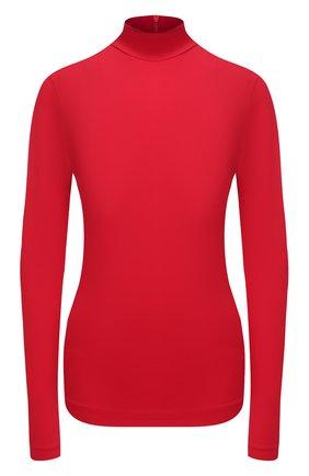Женская водолазка BOSS красного цвета, арт. 50436095   Фото 1