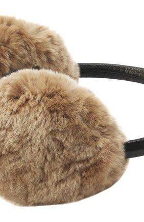 Наушники из меха кролика | Фото №2