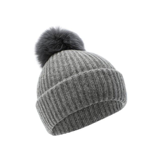 Кашемировая шапка Yves Salomon