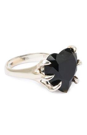 Женское кольцо DZHANELLI черного цвета, арт. 0999 | Фото 1