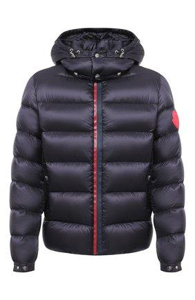 Мужская пуховая куртка arves MONCLER темно-синего цвета, арт. F2-091-1A201-00-53334 | Фото 1