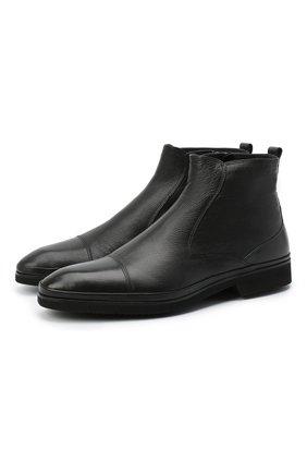 Мужские кожаные сапоги ALDO BRUE черного цвета, арт. AB8621K-NLM.A.A99T | Фото 1