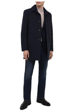 Мужские кожаные сапоги ALDO BRUE черного цвета, арт. AB8621K-NLM.A.A99T | Фото 2