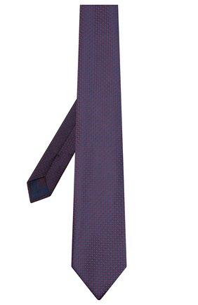 Мужской шелковый галстук BRIONI фиолетового цвета, арт. 062I00/09425 | Фото 2