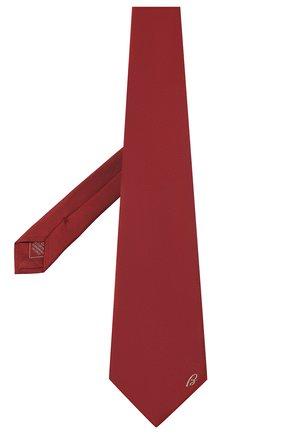Мужской шелковый галстук BRIONI красного цвета, арт. 062H00/0943C | Фото 2