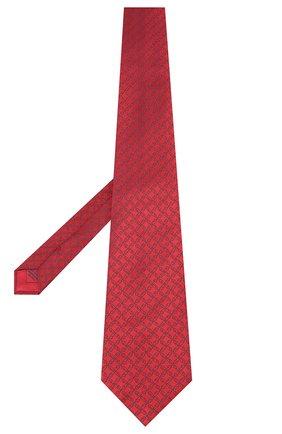 Мужской шелковый галстук BRIONI красного цвета, арт. 062H00/0842A | Фото 2