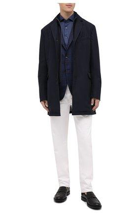 Мужские кожаные пенни-лоферы TOD'S черного цвета, арт. XXM62C0DI200LW | Фото 2