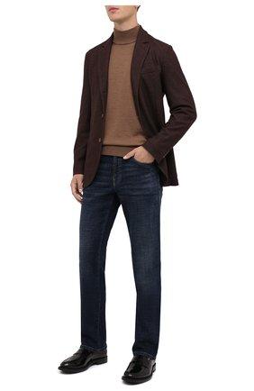 Мужские кожаные пенни-лоферы TOD'S черного цвета, арт. XXM62C0DI20AKT | Фото 2