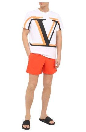 Мужские плавки-шорты VILEBREQUIN красного цвета, арт. MOOU0D08/193 | Фото 2