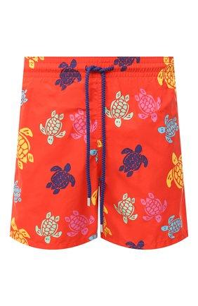 Мужские плавки-шорты VILEBREQUIN красного цвета, арт. MOOU0B37/193 | Фото 1