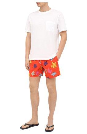 Мужские плавки-шорты VILEBREQUIN красного цвета, арт. MOOU0B37/193 | Фото 2