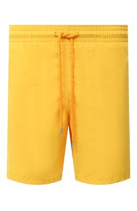 Детского плавки-шорты VILEBREQUIN желтого цвета, арт. MOOE9A00/118 | Фото 1