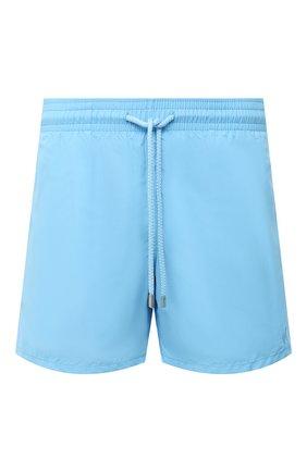 Мужские плавки-шорты VILEBREQUIN голубого цвета, арт. MOOU0D16/380 | Фото 1