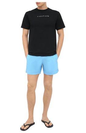 Мужские плавки-шорты VILEBREQUIN голубого цвета, арт. MOOU0D16/380 | Фото 2