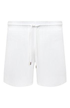 Мужские плавки-шорты VILEBREQUIN белого цвета, арт. MOOP701P/010 | Фото 1