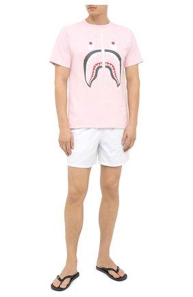 Мужские плавки-шорты VILEBREQUIN белого цвета, арт. MOOP701P/010 | Фото 2