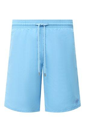 Детского плавки-шорты VILEBREQUIN голубого цвета, арт. OKOU0D16/380 | Фото 1