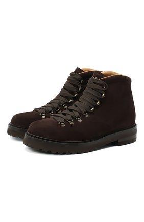 Мужские замшевые ботинки H`D`S`N BARACCO коричневого цвета, арт. 58517.6* | Фото 1