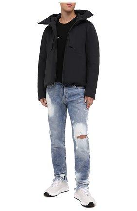 Мужская пуховая куртка KAZUYUKI KUMAGAI черного цвета, арт. AB03-238 | Фото 2