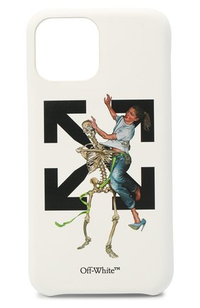 Мужской чехол для iphone 11 pro OFF-WHITE белого цвета, арт. 0MPA018F20PLA0030140 | Фото 1