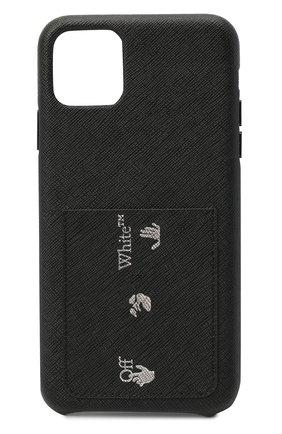 Мужской чехол для iphone 11 pro max OFF-WHITE черного цвета, арт. 0MPA024F20LEA0011001 | Фото 1