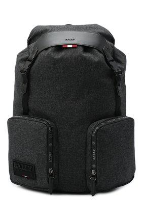 Мужской текстильный рюкзак rhudi BALLY темно-серого цвета, арт. RHUDI.JT/05 | Фото 1
