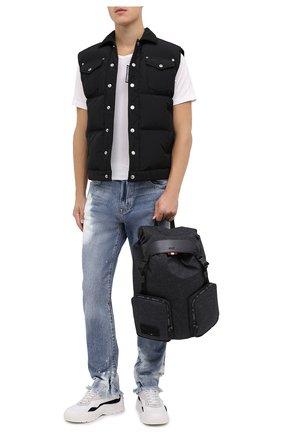 Мужской текстильный рюкзак rhudi BALLY темно-серого цвета, арт. RHUDI.JT/05 | Фото 2