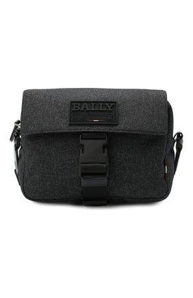 Мужская текстильная сумка reenzo BALLY темно-серого цвета, арт. REENZ0.JT/05   Фото 1