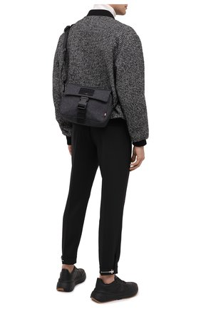 Мужская текстильная сумка reenzo BALLY темно-серого цвета, арт. REENZ0.JT/05   Фото 2