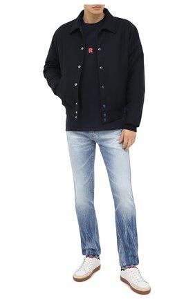 Мужские джинсы AG голубого цвета, арт. 1139DAS/20YEVE | Фото 2