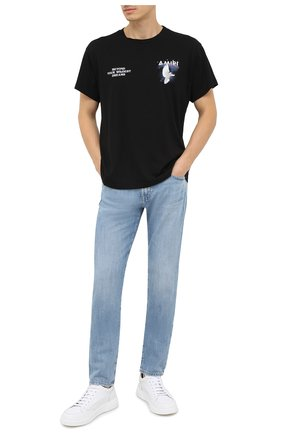 Мужские джинсы AG голубого цвета, арт. 1783HRD/22YSDE | Фото 2
