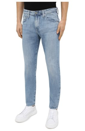 Мужские джинсы AG голубого цвета, арт. 1783HRD/22YSDE | Фото 3