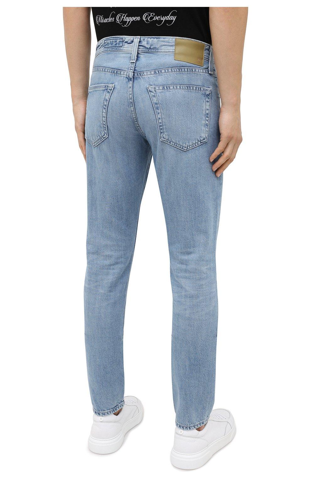 Мужские джинсы AG голубого цвета, арт. 1783HRD/22YSDE | Фото 4