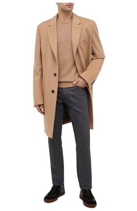 Мужской шерстяные брюки JACOB COHEN темно-серого цвета, арт. J688 W00L B 06968-N/54 | Фото 2