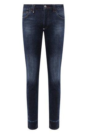 Мужские джинсы PHILIPP PLEIN синего цвета, арт. F20C MDT2284 PDE004N | Фото 1