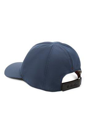 Мужской бейсболка LORO PIANA темно-синего цвета, арт. FAL3609 | Фото 2