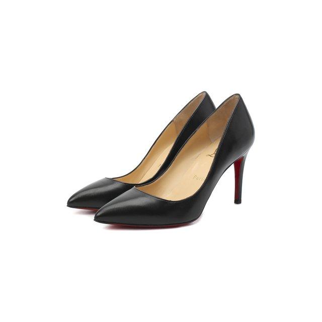 Кожаные туфли Pigalle 85 Christian Louboutin.
