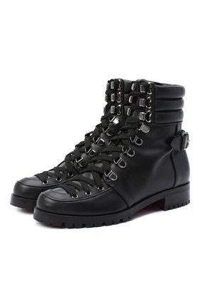 Кожаные ботинки Who Runs | Фото №1