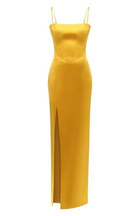 Женское платье-макси RASARIO желтого цвета, арт. 0027W20_5   Фото 1