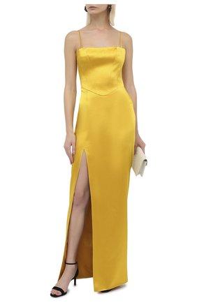 Женское платье-макси RASARIO желтого цвета, арт. 0027W20_5   Фото 2