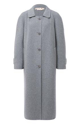 Женское кашемировое пальто MARNI серого цвета, арт. CPMA0133KU/TW888 | Фото 1