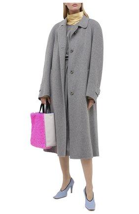 Женское кашемировое пальто MARNI серого цвета, арт. CPMA0133KU/TW888 | Фото 2