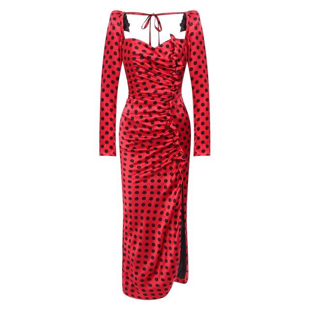 Шелковое платье Giuseppe di Morabito