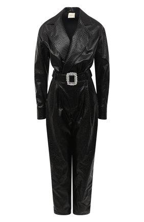 Женский комбинезон GIUSEPPE DI MORABITO черного цвета, арт. PF20143DR-47 | Фото 1