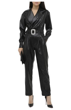 Женский комбинезон GIUSEPPE DI MORABITO черного цвета, арт. PF20143DR-47 | Фото 2