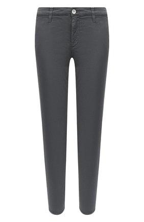 Женские хлопковые брюки AG серого цвета, арт. ART1613/SLFLKG | Фото 1